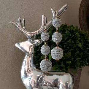 Silver & Gold Ball Earrings